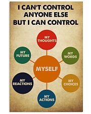 Social Worker I Can Control Myself 11x17 Poster front
