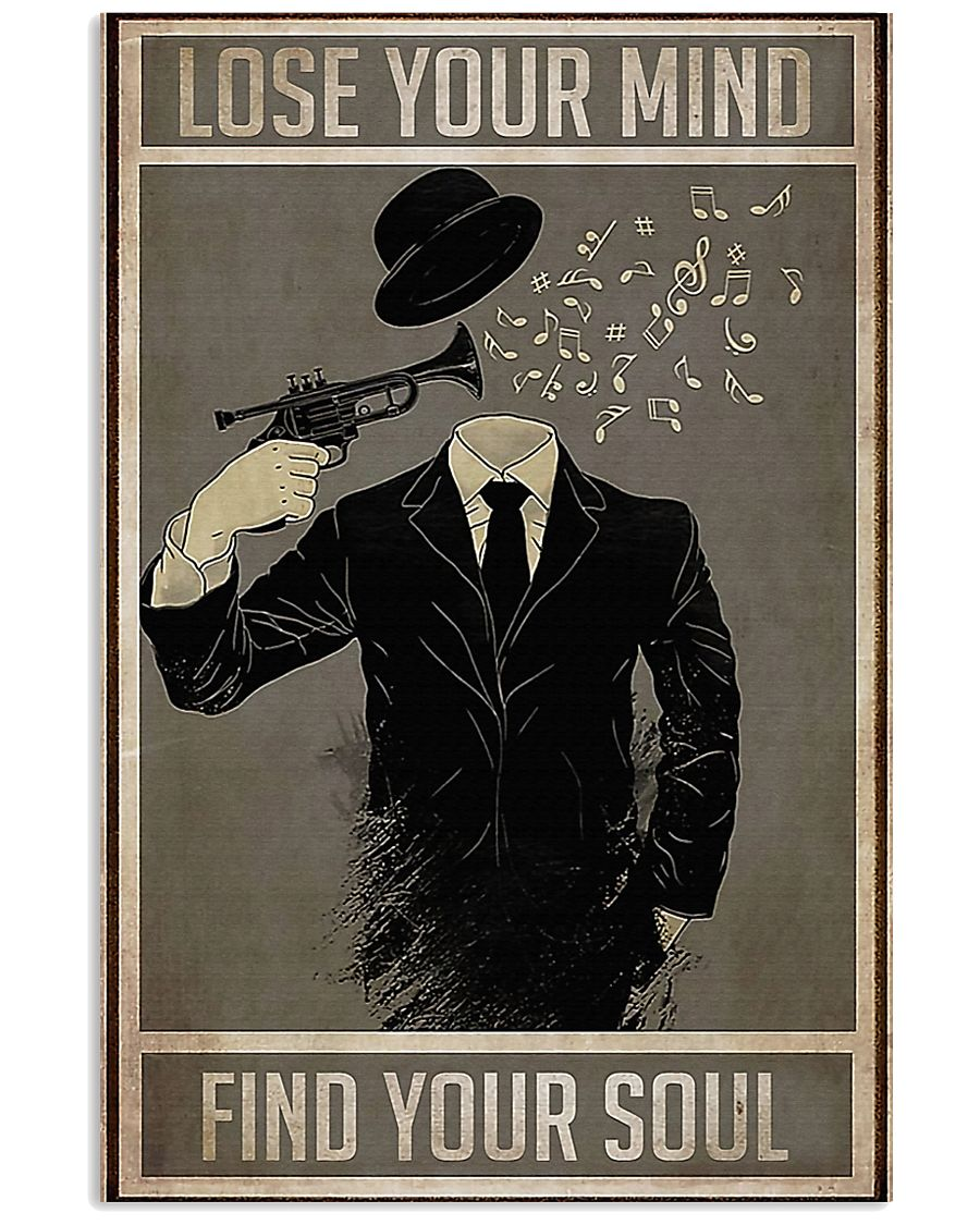 Trumpet Lose Your Mind Find Your Soul 11x17 Poster