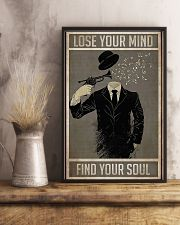 Trumpet Lose Your Mind Find Your Soul 11x17 Poster lifestyle-poster-3