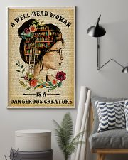 Book A Well-read Woman Is A Dangerous Creature 11x17 Poster lifestyle-poster-1