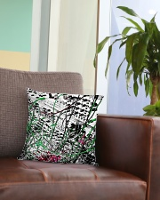 Detail Synthesizer Machine Square Pillowcase aos-pillow-square-front-lifestyle-03