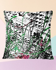 Detail Synthesizer Machine Square Pillowcase aos-pillow-square-front-lifestyle-25