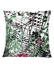Detail Synthesizer Machine Square Pillowcase back