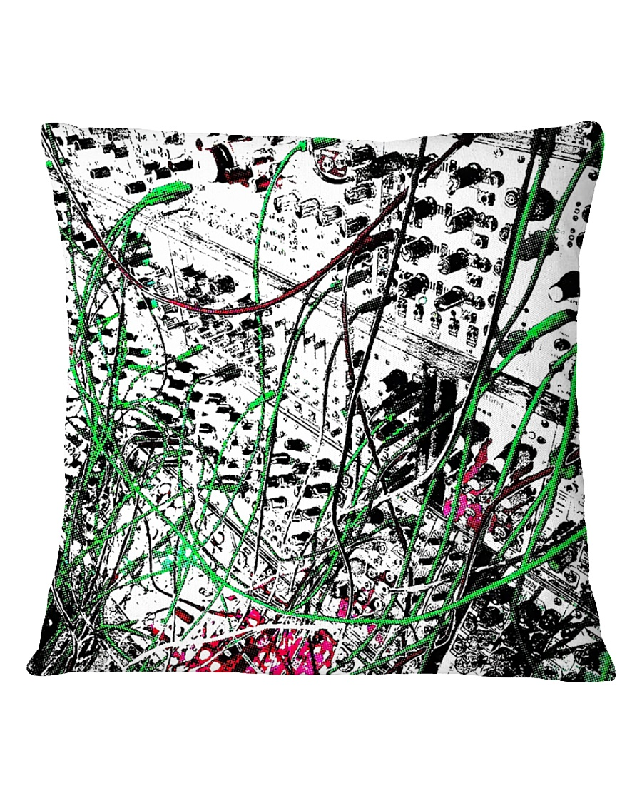 Detail Synthesizer Machine Square Pillowcase
