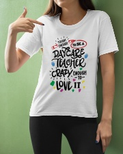 Tough Enough To Be A Daycare Teacher Ladies T-Shirt apparel-ladies-t-shirt-lifestyle-front-10