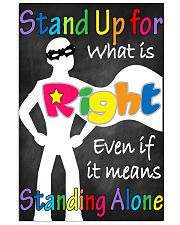 Social Workers Stand Up For What Is Right 11x17 Poster front