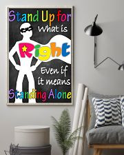 Social Workers Stand Up For What Is Right 11x17 Poster lifestyle-poster-1