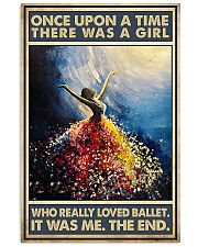 Once Upon A Time There Was A Girl Who Loved Ballet 11x17 Poster front