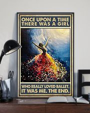 Once Upon A Time There Was A Girl Who Loved Ballet 11x17 Poster lifestyle-poster-2