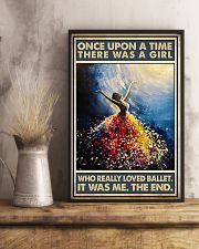 Once Upon A Time There Was A Girl Who Loved Ballet 11x17 Poster lifestyle-poster-3