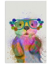 Otter Watercolor Cute 11x17 Poster front