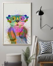 Otter Watercolor Cute 11x17 Poster lifestyle-poster-1