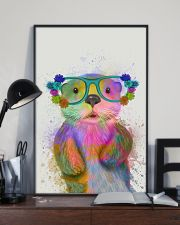 Otter Watercolor Cute 11x17 Poster lifestyle-poster-2