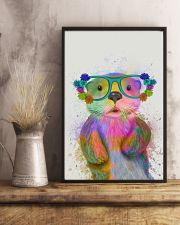 Otter Watercolor Cute 11x17 Poster lifestyle-poster-3