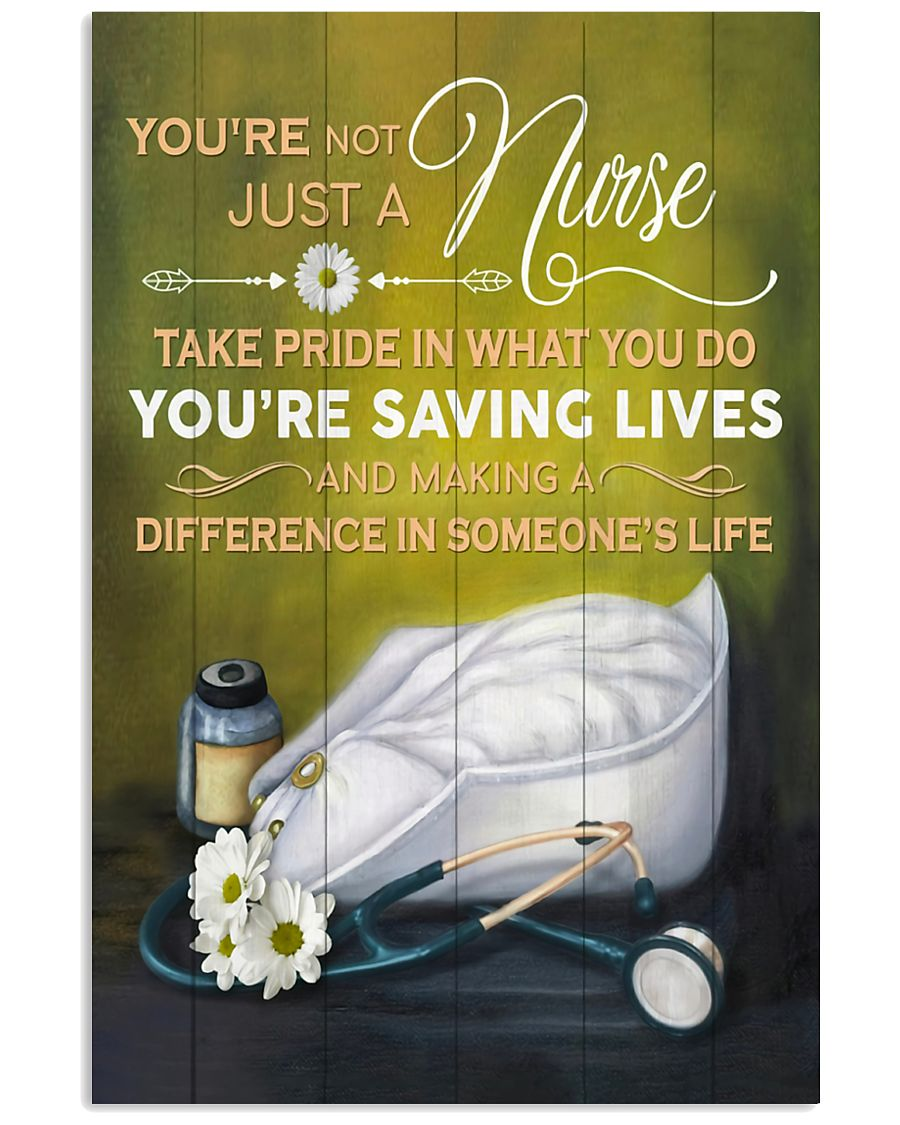 Nurse making a difference in someone's life Poster 11x17 Poster