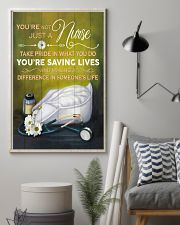 Nurse making a difference in someone's life Poster 11x17 Poster lifestyle-poster-1