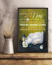Nurse making a difference in someone's life Poster 11x17 Poster lifestyle-poster-3