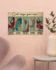 Ballet - God Says You Are Lovely 17x11 Poster poster-landscape-17x11-lifestyle-22