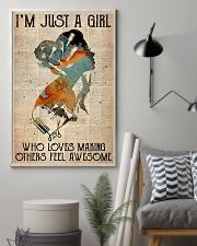 Hairdresser Just A Girl 11x17 Poster lifestyle-poster-1