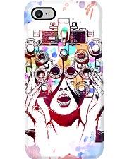 Optometrist Art Phoropter Phone Case thumbnail