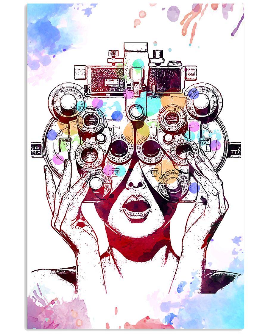 Optometrist Art Phoropter 11x17 Poster