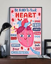 Be Kind To Your Heart Cardiologist 11x17 Poster lifestyle-poster-2