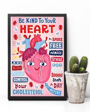 Be Kind To Your Heart Cardiologist 11x17 Poster lifestyle-poster-8