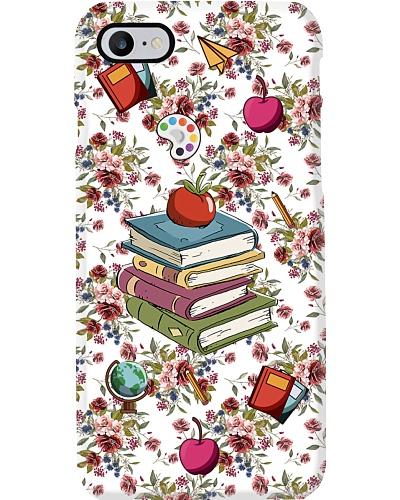 Teacher Colorful School Things