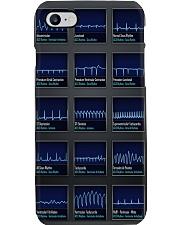 Cardiologist ACLS Rythm Phone Case i-phone-8-case