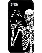 Hairdresser Hair Hustler Skeleton Phone Case i-phone-7-case