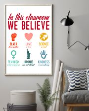 We Believe Teacher  11x17 Poster lifestyle-poster-1