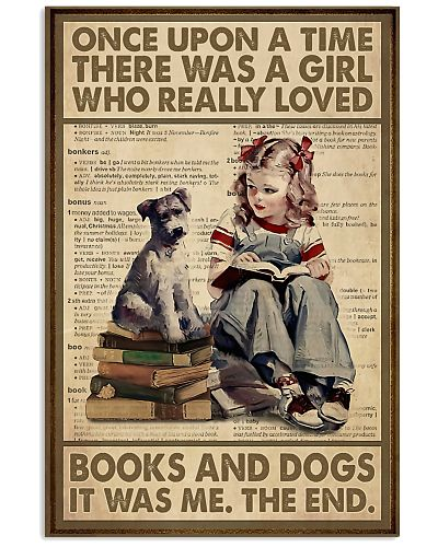 Librarian A Girl Really Loved Books And Dogs