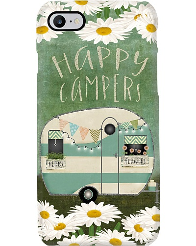 Happy Campers With Herbs And Flowers
