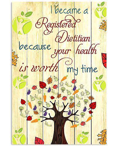 I Became A Registered Dietitian
