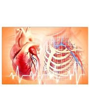 Anatomy Human Heart Cardiologist  17x11 Poster front