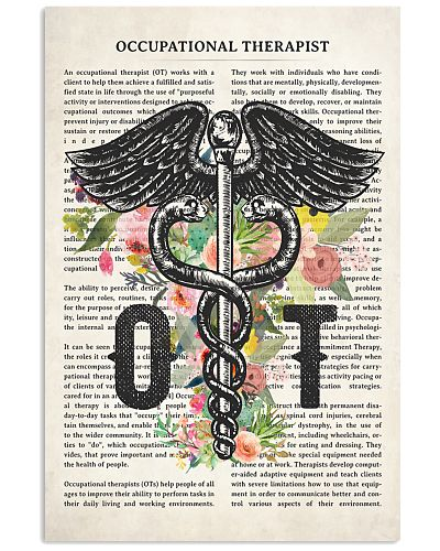 Occupational Therapy Caduceus Flower