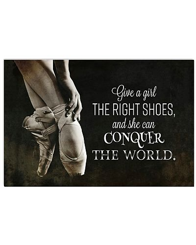 Give Ballet right shoes she can conquer the world