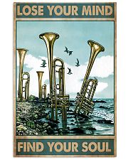 Trumpet Lose Your Mind Find Your Soul 11x17 Poster front