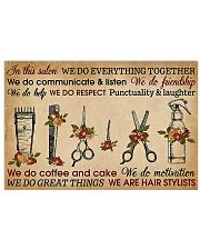 Hairdresser We Do Everything  17x11 Poster front