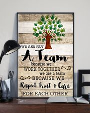 Social Worker We Work Together 11x17 Poster lifestyle-poster-2