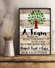 Social Worker We Work Together 11x17 Poster lifestyle-poster-3