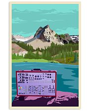 Synthesizer And Mountain Art Print  11x17 Poster front