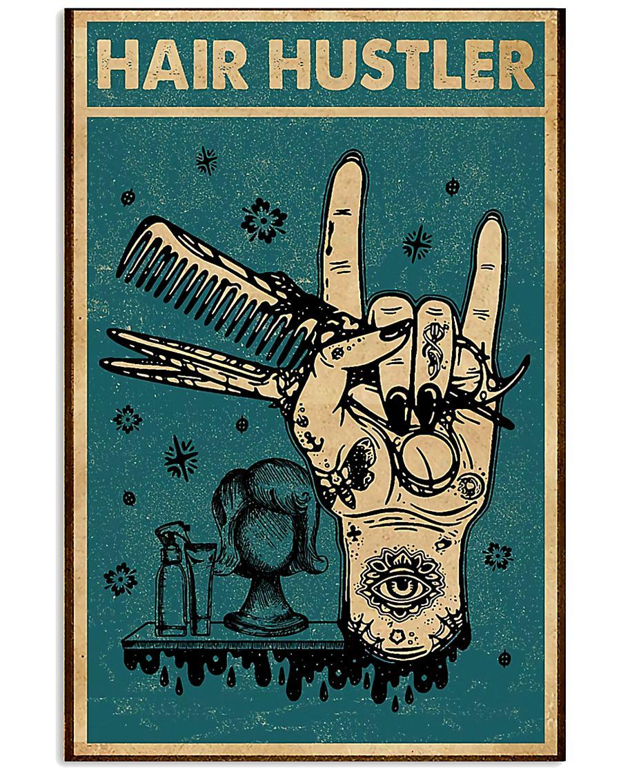Hairdresser Hair Hustler 11x17 Poster