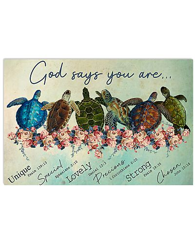God Says You Are Turtle