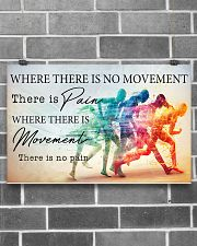 PT Where There Is Movement There Is No Pain 17x11 Poster poster-landscape-17x11-lifestyle-18