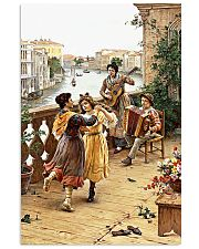 Accordion Dancing Children Poster 11x17 Poster front