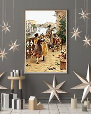 Accordion Dancing Children Poster 11x17 Poster lifestyle-holiday-poster-1