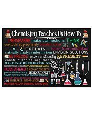 Chemist Chemistry Teaches Us How To 17x11 Poster front