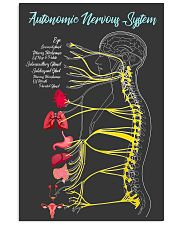 Massage Therapist Autonomic Nervous System 24x36 Poster front