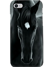 Horse Girl Black Horse Phone Case i-phone-7-case